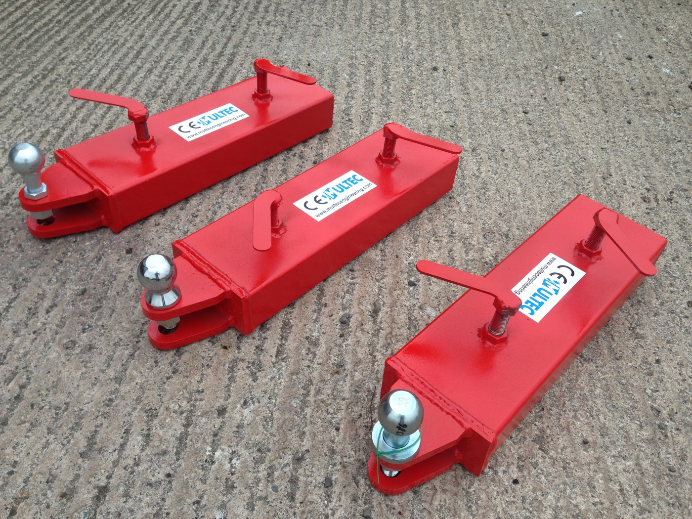 Forklift Lifting Attachments : Forklift hitch attachment multec engineering