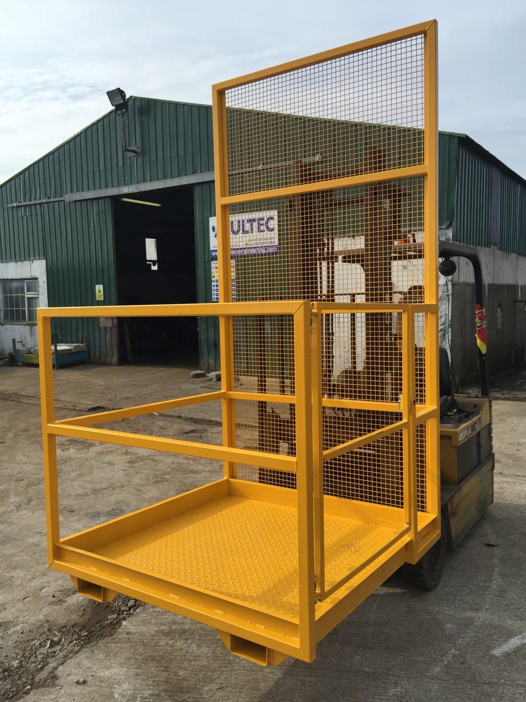 4ft Manlift Amp Agri Basket Mesh Guard Model Multec