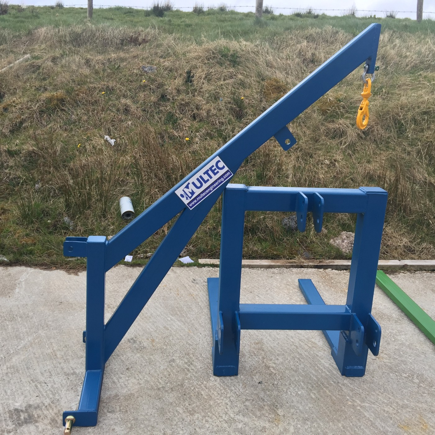 Tractor Crane Attachment (1 0Ton SWL)