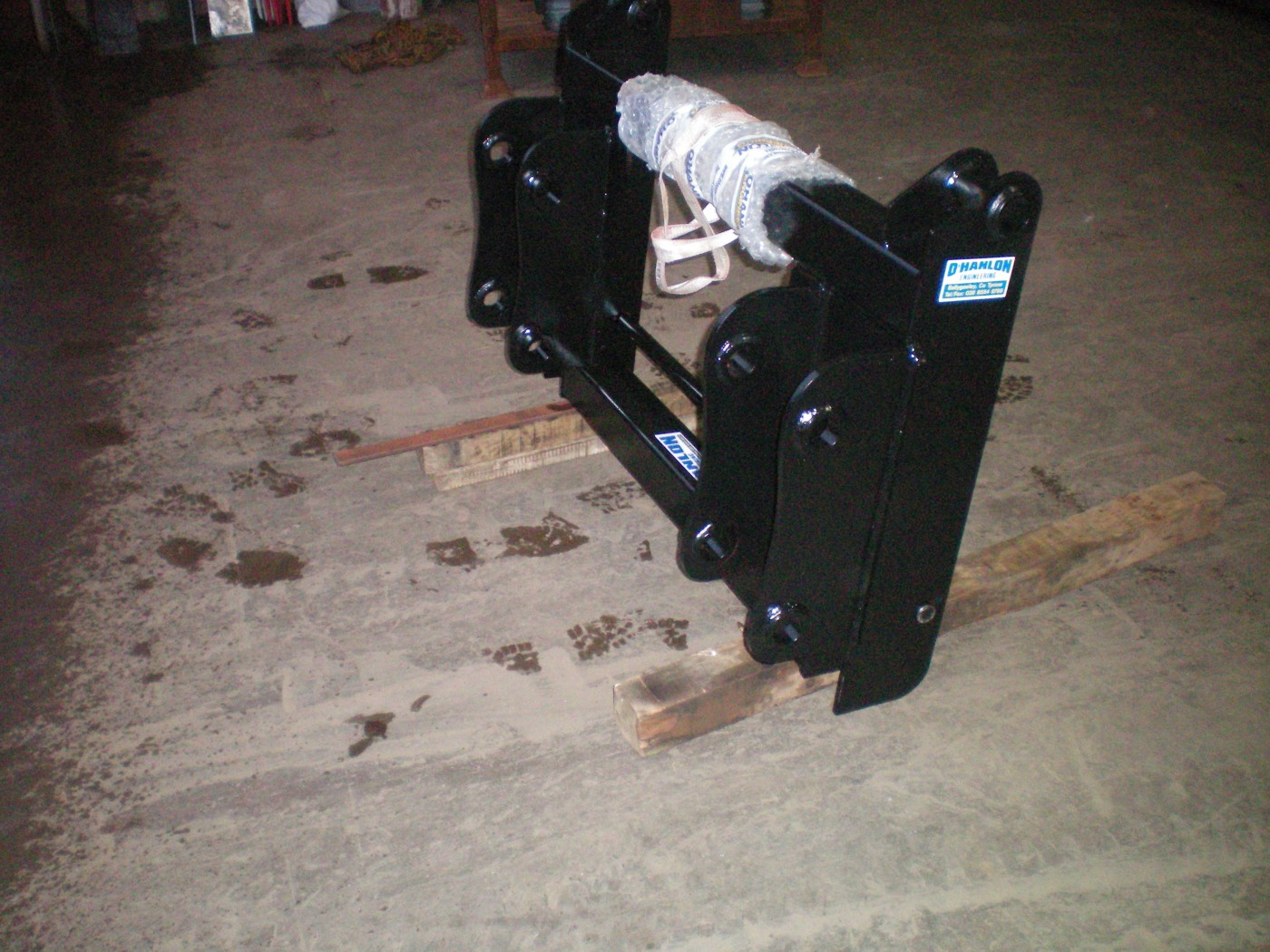 JCB 3CX to JCB Q-Fit Interchanger