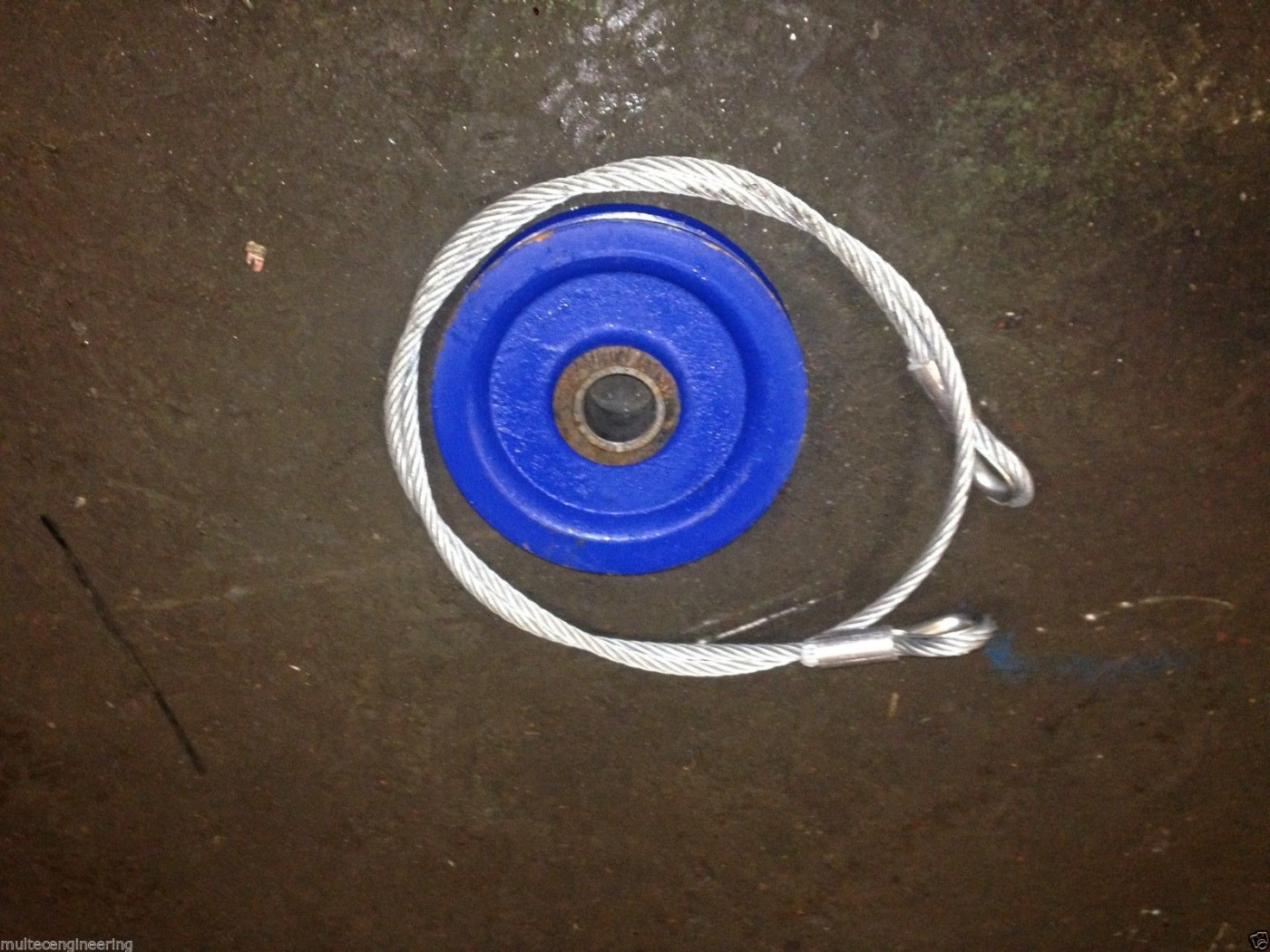Post Driver Pulley Wheel Amp Wire Rope Kit Multec Engineering