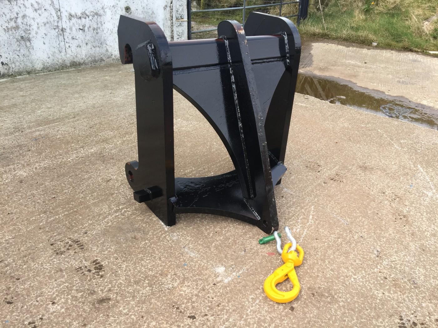 Forklift Lifting Attachments : Telescopic handler lifting hook attachment multec