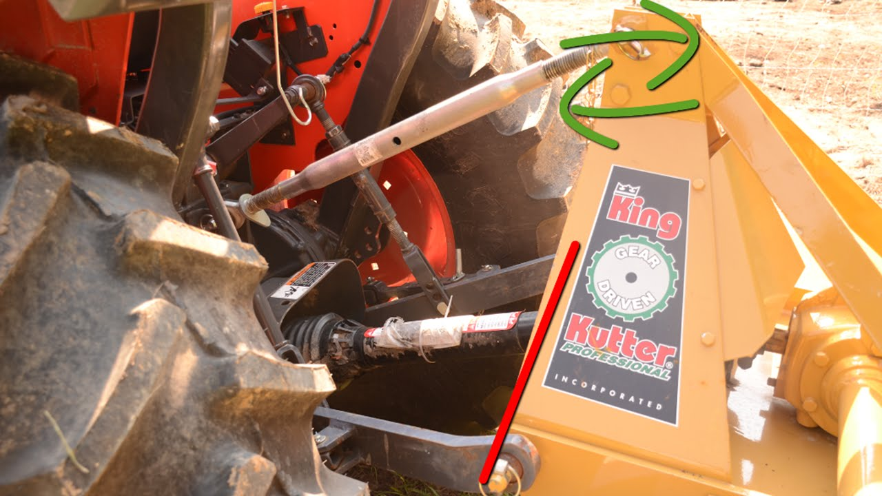 "Tractor 3PL 26/"" Hydraulic Toplink Ram /& Hoses Kit Power Top link"