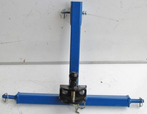 3 Point Linkage Tow Hitch / Tow Bar (Cat 1)